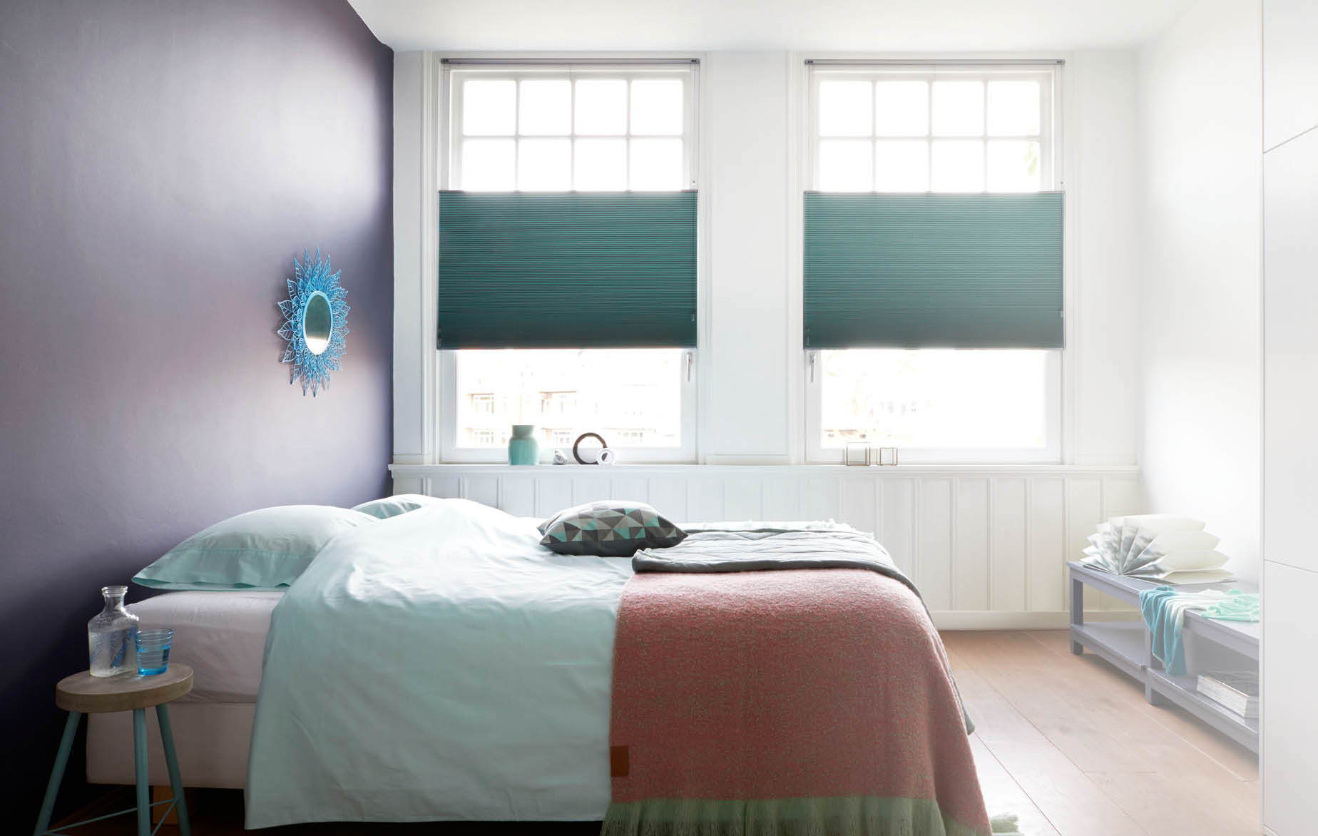 Gordijnen Kleine Ramen : Raamdecoratie corpaint